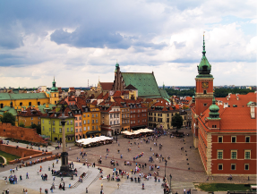 6.Old Town Square Warsaw Poland
