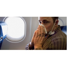 E. coli, MRSA can survive for days on planes